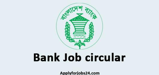 Bank job Circular